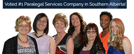 The Staff of our Award Winning Paralegal Company