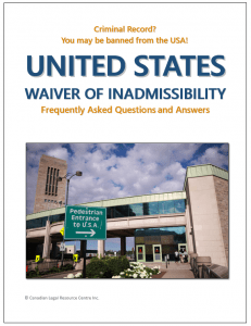 US Waiver Question and Answer Guide