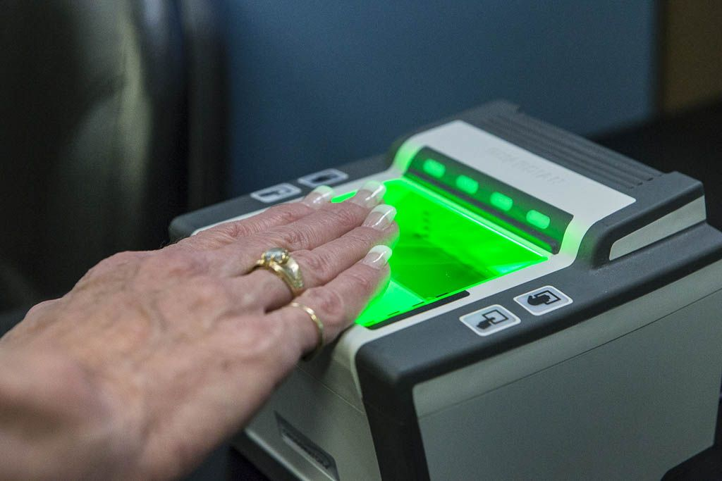 We are a RCMP accredited fingerprinting agency