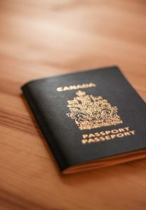 Tuck your waiver in your passport for safekeeping when travelling through the United States